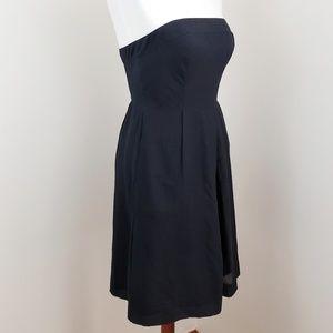 J. Crew 》Black Cotton Dress